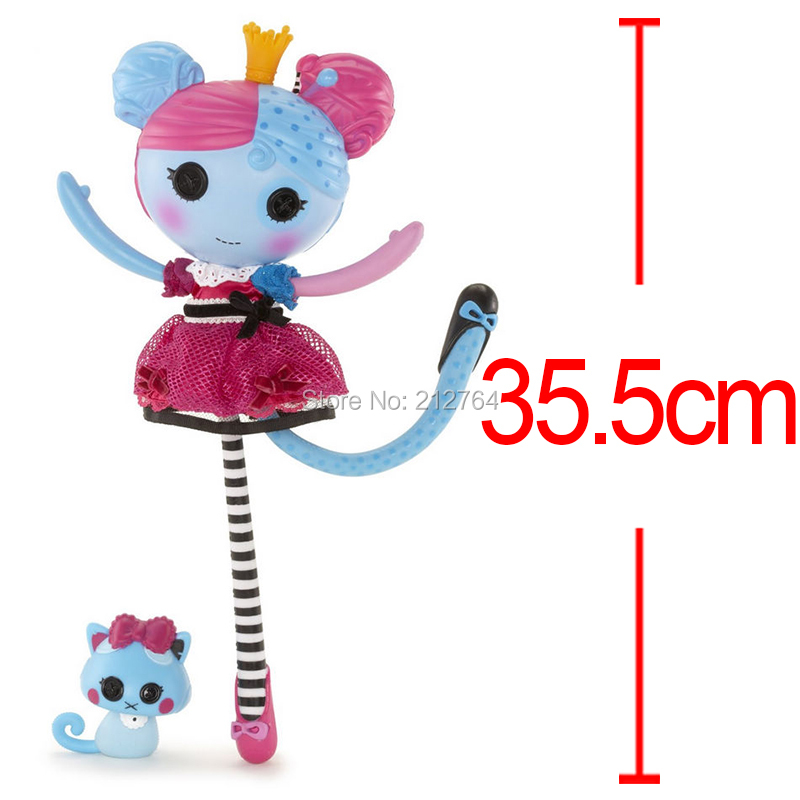 Anime Lalaloopsy Lala Oopsie Princess Nutmeg Anise PVC Action Figure Button Eyes Girl Toy Doll Collection Model Toy Brinquedos<br><br>Aliexpress