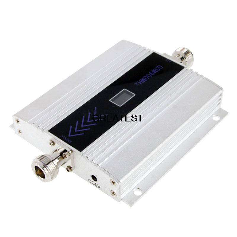 High quality LCD.GSM signal repeater, mini GSM 900 MHZ mobile signal booster mobile phone amplifier