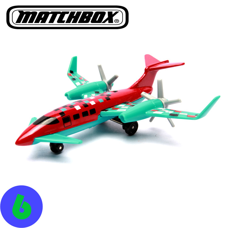 2016 new genuine Matchbox Green high-speed aircraft(China (Mainland))