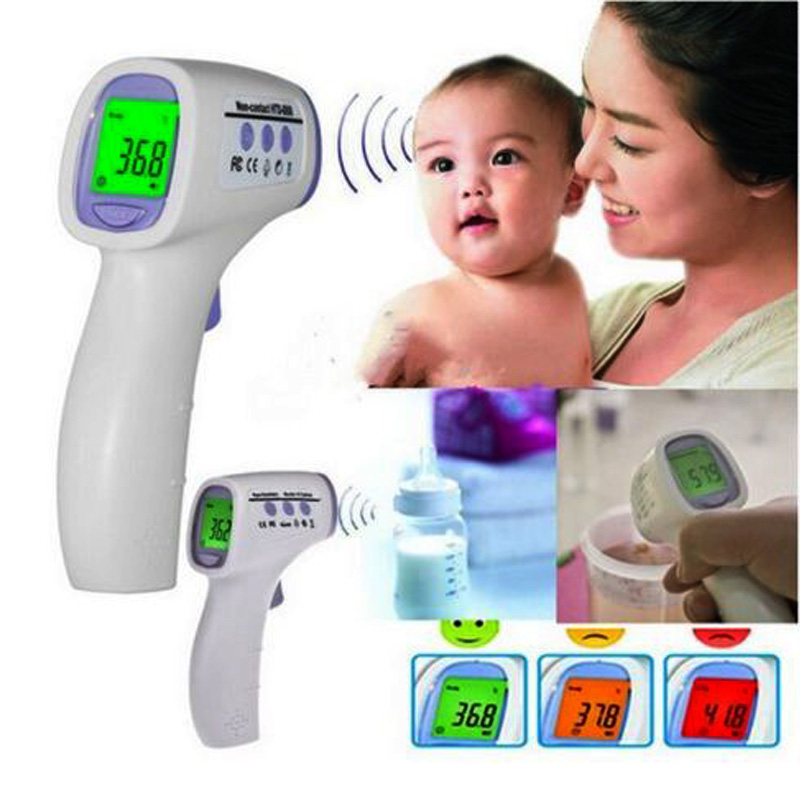 Baby/Adult Digital Temperature Multi-Function Non-contact Infrared Forehead Body Thermometer(China (Mainland))