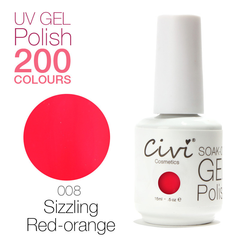 Civi UV Gel Color 200 Gorgeous Colors The Best Soak Off