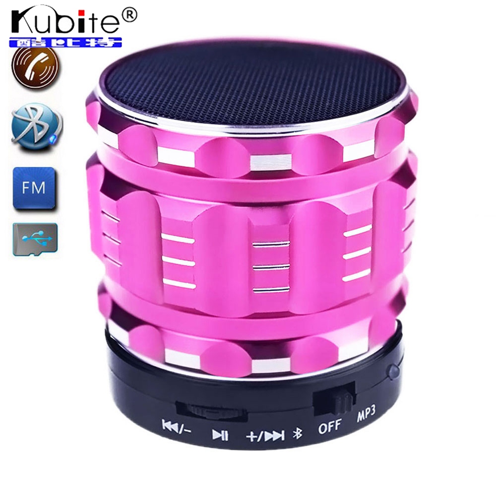 Wireless Bluetooth Speaker Mini Portable Handfree Speakers Subwoofer With Mic FM Radio +TF card Slot For PC MP3 MP4 Player(China (Mainland))
