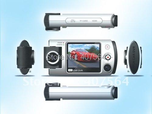 "Free shipping ! Car DVR R280 2.0""TFT 1080P 130degree A+ bugeye lens car camera 180 degrees lens turn Anti-shake function(China (Mainland))"