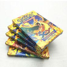17 PCS/Lot English Pokemon Cards Game Anime 1 Mega Pokemon Card Trading Cards Toys Children Gift Pokemon Figures For Children