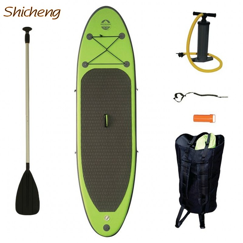 SHICHENG popular inflatable stand up paddle board inflatable SUP board(China (Mainland))