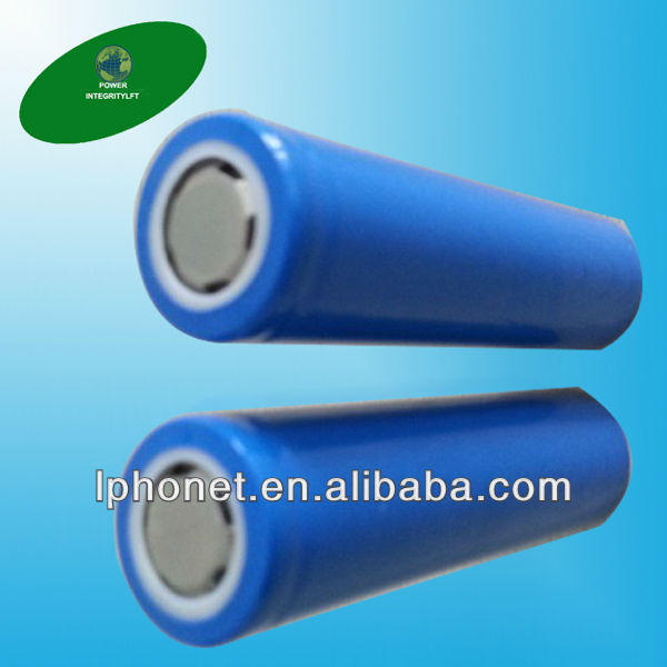China factory competitive price 18650 dimension de la batterie(China (Mainland))