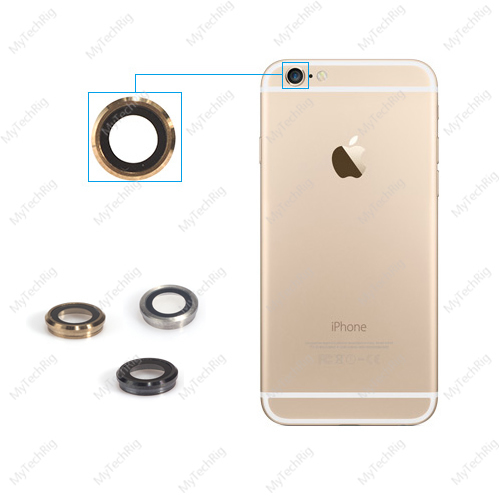 For Apple iPhone 6 Plus Camera Lens; Original Protruding Rear Camera Lens Replacement Part for iPhone 6 Plus Silver, Gold, Gray