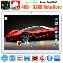 2016 New DHL Free 10 inch 3G 4G Lte Tablet PC Octa Core 4GB RAM 32GB ROM Dual SIM Cards Android 5.1 GPS Tablet PC 10 10.1 +Gifts(China (Mainland))