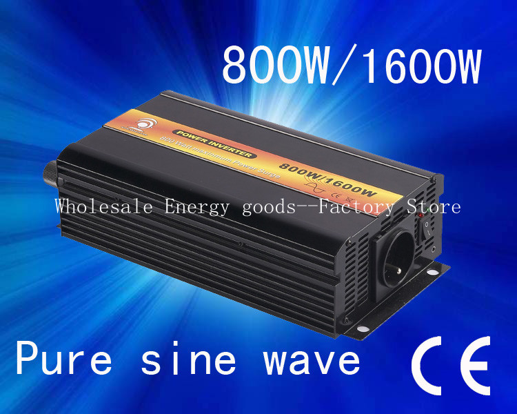 Best quality!DC12v-AC230v 800W/1600W 50Hz/60Hz Pure Sine Wave Power Inverter, High Inverter (CTP-800W) - Zhejiang Clean Energy Co.,Ltd-Eric Store store