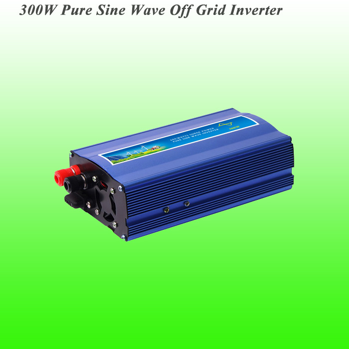 300W Off Grid Pure Sine Wave Inverter with DC12V/24V input, Wind Generator Inverter, 3 Years Warranty!(China (Mainland))