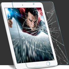 9H For ipad air 2 Tempered Glass Screen Protector For Apple iPad Air Explosion Proof Clear Toughened Protective Film For ipad 5(China (Mainland))