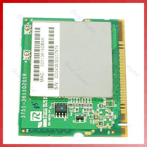 Free Shipping Atheros AR2413A AR5005G 54M b/g Mini PCI Wireless Card(China (Mainland))