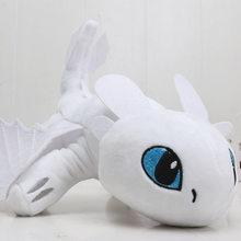 55cm 22cm 33cm 40cm como treinar seu dragão desdentado noite fúria macio pelúcia animal brinquedos juguetes de peluches bebe(China)