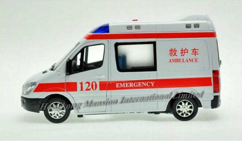 132 Police Ambulance Car Model For Benz Sprinter (15)