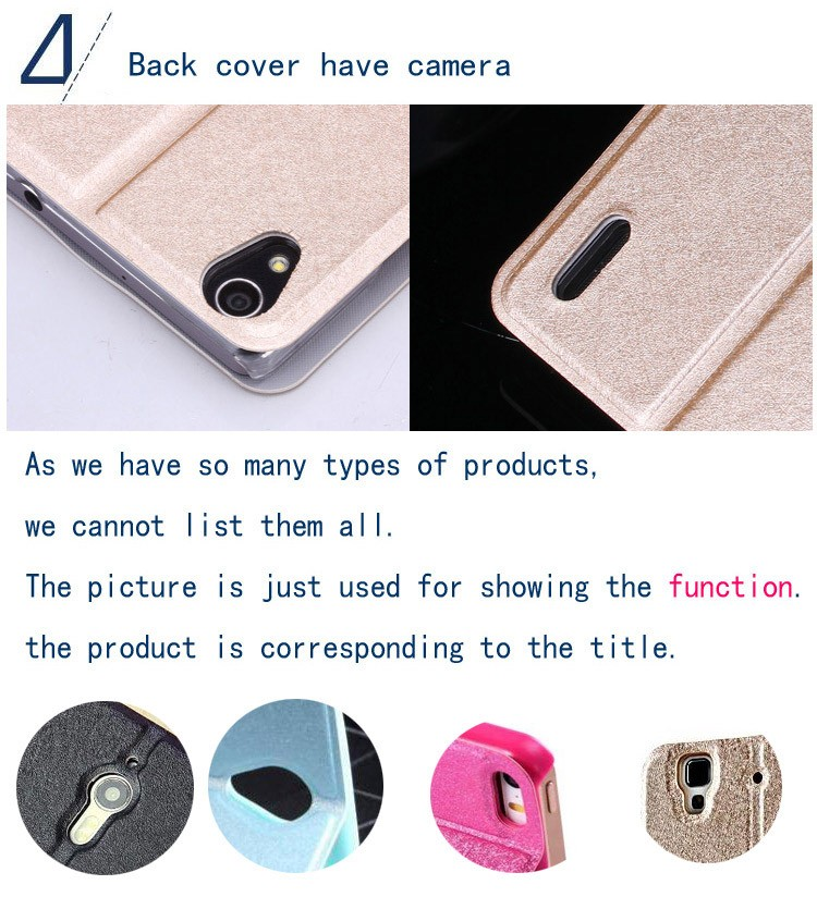 Flip PU Leather Back Cover Cases Original Battery Housing Case For Samsung Galaxy S7270 S7390 S7500 S7562 S7898 Phone Cover Case