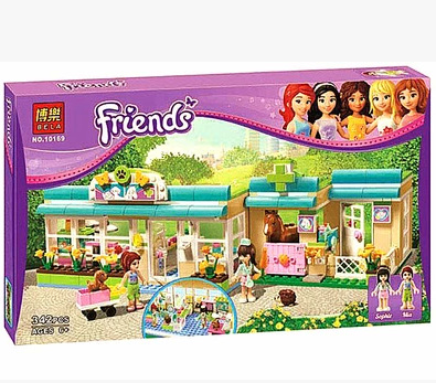 Здесь можно купить  BELA 10169 Building Blocks Friends Heartlake Pet Hospital Assemble Educational Bricks Toys for Girls Compatible with Lego bricks  Игрушки и Хобби