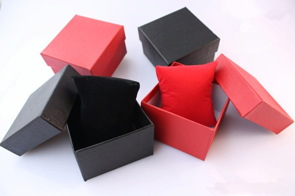 1 size 85*80*55mm factory watch boxes mix color gift box - Tony' online store -Low price every day