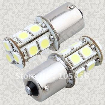 Freeshipping ba15s 13smd 5050 t20 S25 1156 led light bulb for car/ motor Turn light/reverse light