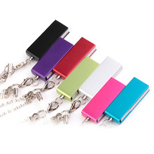 rotatable metal pen drive 4GB 8GB pendrive 16GB 32GB 64GB usb flash drive real capacity memory stick usb 2.0 u disk with chain