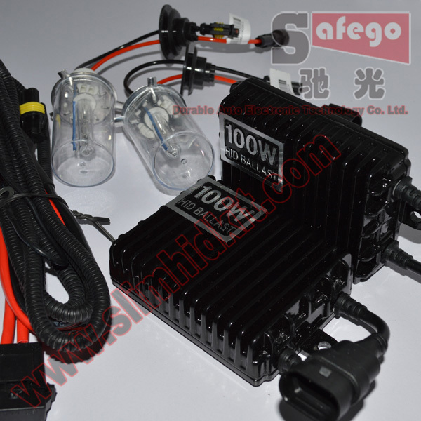 1 set 12V 100W Xenon HID Kit Set System H1 H3 H4 H7 H11 9005 9006 9007 880 Conversion - Guangzhou Durable Auto Electronic Technology Co.,Ltd store