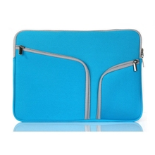 """New arrival Handbag for Apple Macbook Pro 15.4"""" two pockets portable bag protective tablet laptop Cover case shell coque housing(China (Mainland))"""