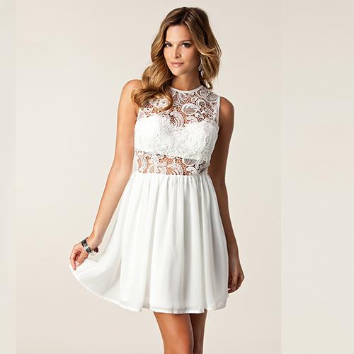 Beach party dress white