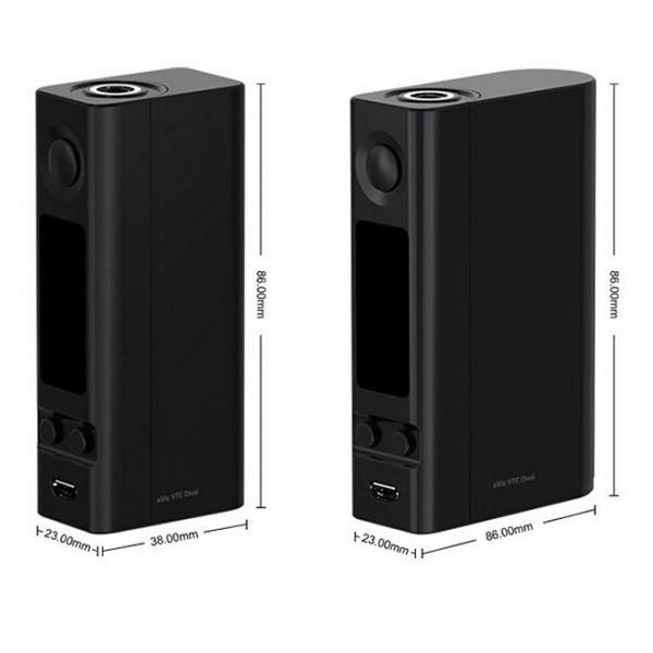 ถูก ของแท้100% Joyetech Evic VTCกล่องแบตเตอรี่คู่สมัย75วัตต์/150วัตต์สองโหมดeVic VTC DualสมัยเหมาะสำหรับUltimoเครื่องฉีดน้ำ