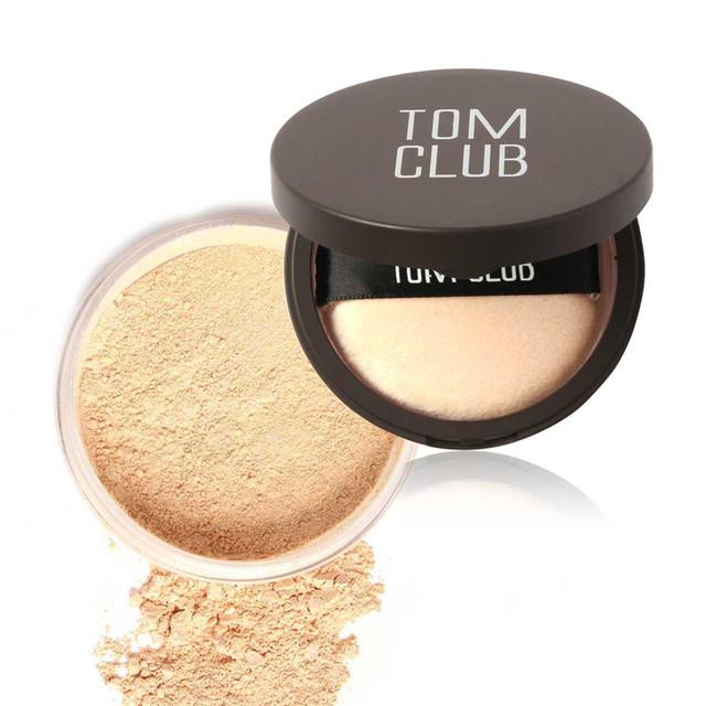 4 цветов лицо макияж порошок уход за кожей лица красота осветляющая пресс контур ...