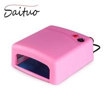 Nail Dryer for Gel Polish 36W UV Lamp for Nails 4x 9W Bulbs LED Lamp Curing Light Nail Art Machine Tools 110V - 220V EU Plug(China (Mainland))