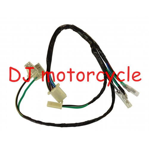 125CC Dirt Bike Kick Start Engine Harness CDI Ignition Coil Contact Wire Loom For 110cc Pit Bike CRF50 CRF70 KLX SSR KTM(China (Mainland))