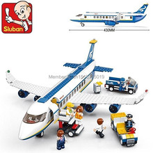 483pcs air plane passenger airport building blocks bricks boy toy compatible with lego toys for children(China (Mainland))