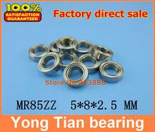 (1pcs) High quality miniature stainless steel deep groove ball bearing (stainless steel 440C material) SMR85ZZ 5*8*2.5 mm