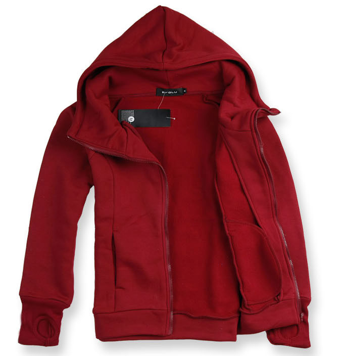 Men s Winter sports Jackets coats Fashion Men casual solid Clothing Casual Hoodies Cotton sports Male