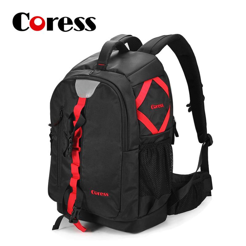 SLR Camera Bag 2016 Original Coress Camera Bag Professional Shoulders Bag Large Capacity Digital SLR Camera Bag Backpacks AH0025(China (Mainland))