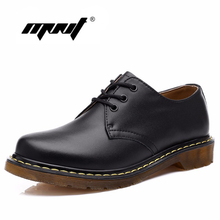 New Style Genuine Leather Men Boots Fashion Ankle Boots Men&Women Shoes Vintage Style Shoes Woman 1461 Boot Have Logo