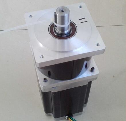 2pcs/lot NEMA 34 Planetary Gear Stepper Motor Max 70N.m (9722oz-in) Gear Ratio 3:1 5:1 10:1 Body Length 114mm
