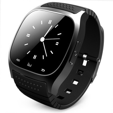 Bluetooth Smart Watch with LED display / Dial / SMS Reminder / Music Player / Pedometer for Androis IOS Mobile Phone Wrist watch(China (Mainland))