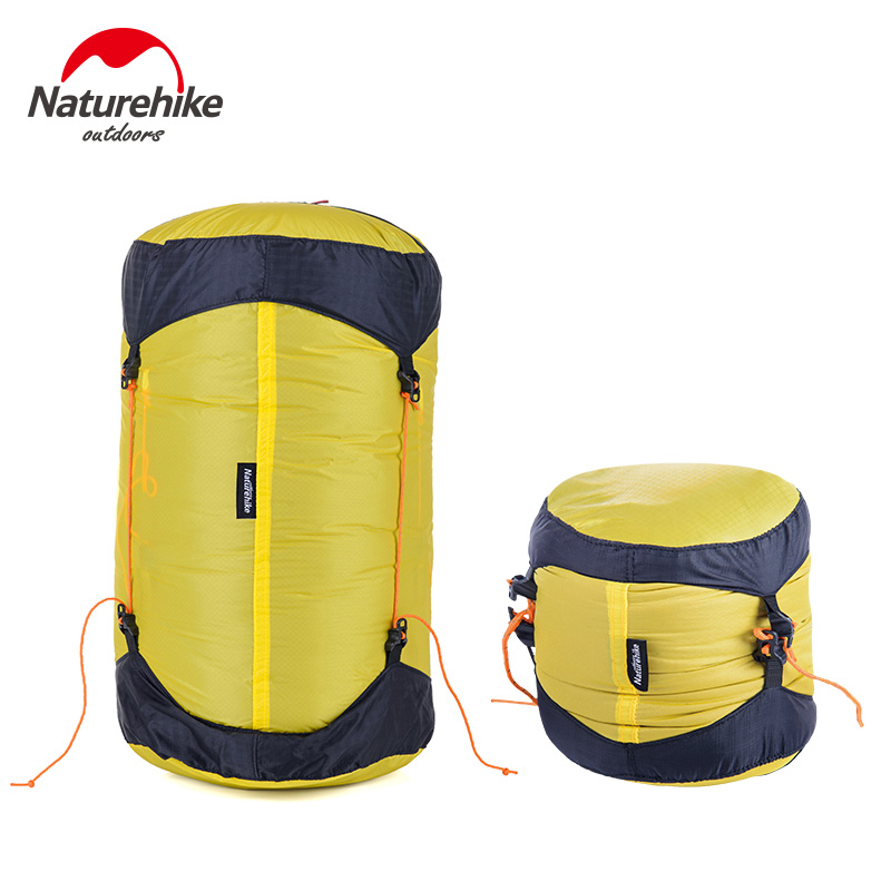 NatureHike Outdoor Sleeping Bag Pack Compression Stuff Sack High Quality Storage Carry Bag For Camping Hiking Mountain M L XL(China (Mainland))