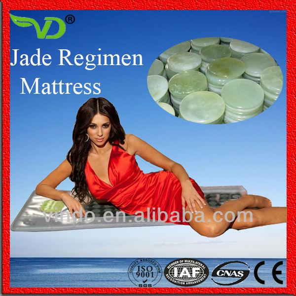 Health therapy korea Infrared jade heating massage jade mattress price(China (Mainland))
