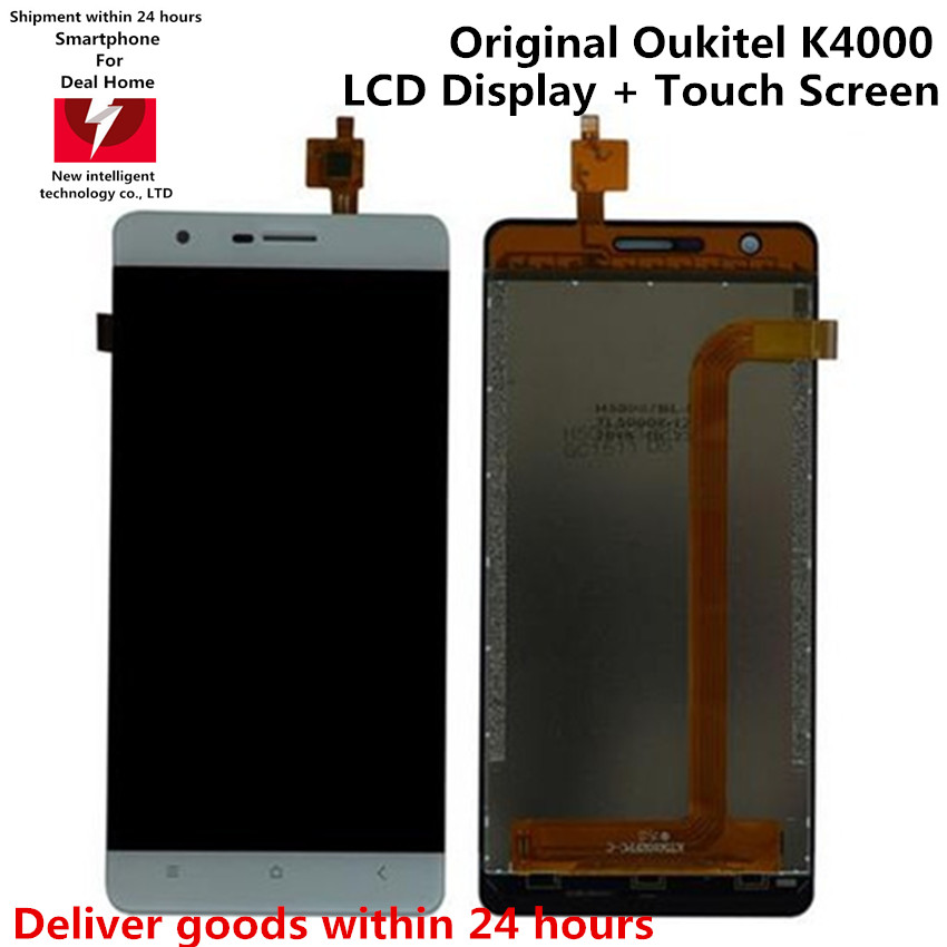Original Oukitel K4000 Phone LCD+Touch Screen Display Digitizer Panel Assembly For Oukitel K4000 MTK6735 Quad Core Smartphone