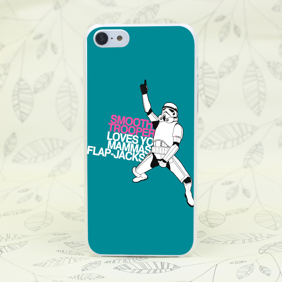 1661W Smooth Trooper Loves You Mammas Flap Jacks Hard Transparent for iPhone 4 4s 5 5s 5c SE 6 6s Plus Case Protect Cover Skin(China (Mainland))