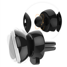 Universal 360 Rotating Magnetic Car Air Vent Mount Cell Mobile Phone Holder Stand for iPhone 6S