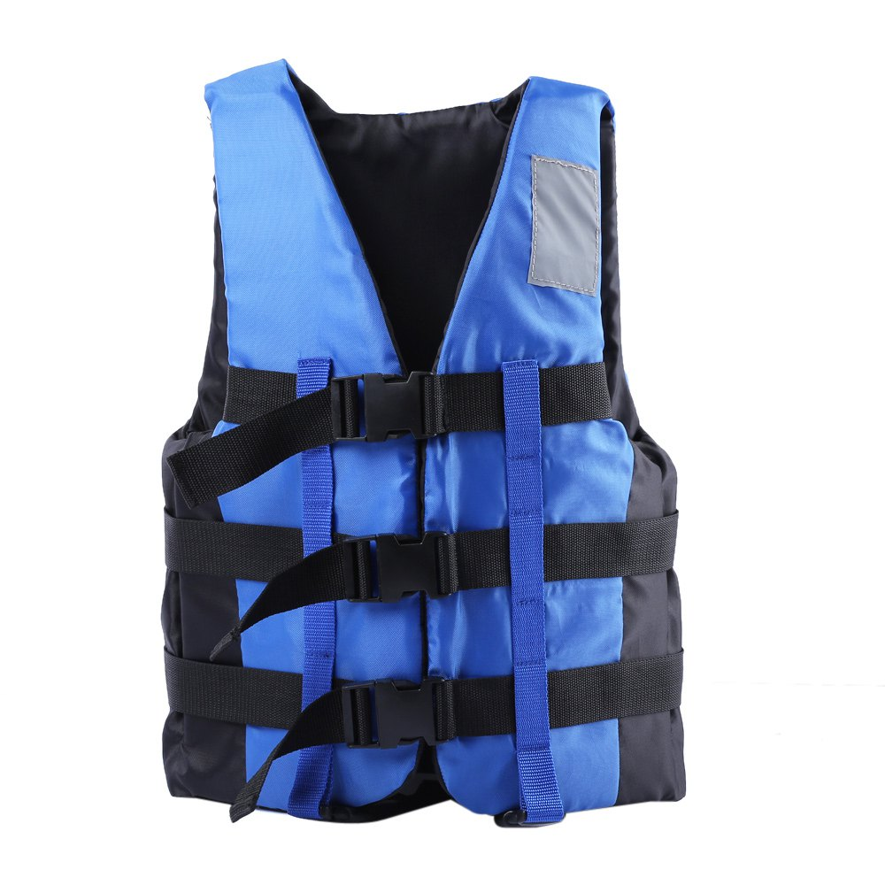 Outdoor 3 Colors Life Vest Inflatable Comfortable Life Jacket Vest for Fishing Rafting Swimming with 3 Adjustable Belts(China (Mainland))