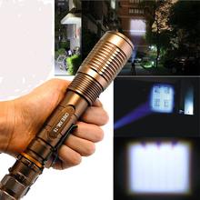 Garberiel Most Popular 4000 Lumen CREE XM-L T6 LED 18650 Flashlight Zoomable Torch Protable Waterproof Lanterna For Climbing