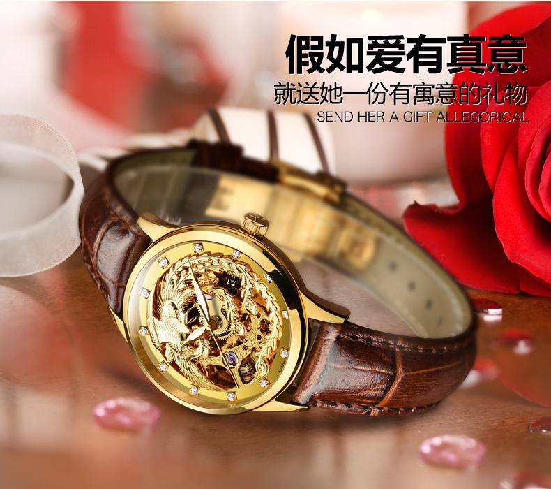AESOP Switzerland watches men luxury brand skeleton automatic self-wind diamond luminous Chinese dragon black relogio masculino