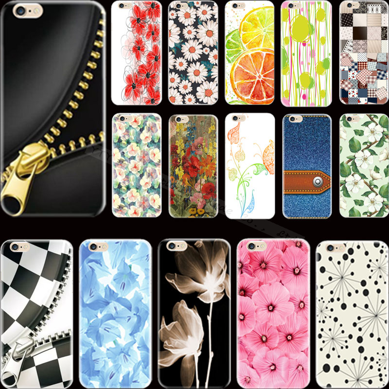 Painting Cowboy Square Flowers Silicon Phone Cases For Apple iPhone 6 iPhone 6S iPhone6 iPhone6S Case Cover Shell UBH HGV VST TB(China (Mainland))