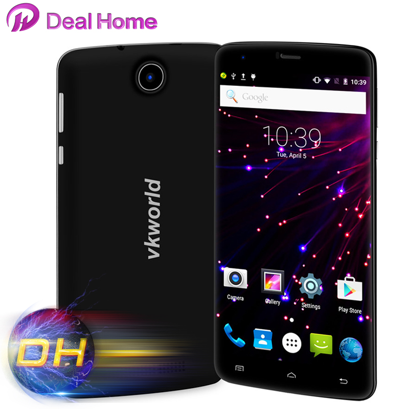 In stock!Original Vkworld T6 6 inch IPS Big Screen Android 5.1 Quad Core 1.0GHZ 1280x720 2G+16G 3000mAh 4G FDD Smartphone(China (Mainland))