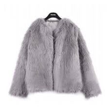 2015 New Winter Women Warm Faux Fur Coat Women Vintage Mink Fox Jacket 10 Colors Size S M L XL Fast Shipping(China (Mainland))