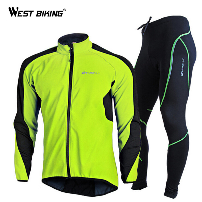 Здесь продается  Brand Design Bicycle Jacket Set Winter Fleece Sports Jersey Pants Windproof Cycling Bike Bicycle Clothing Sets Ropa Ciclismo  Спорт и развлечения