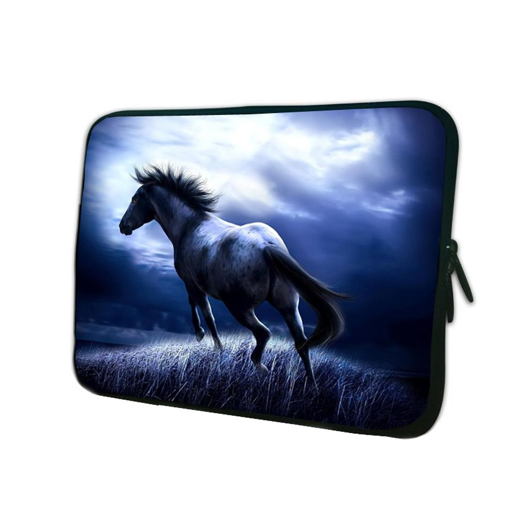 """Running Horse Portable Neoprene Soft 14"""" 14.1"""" 14.2"""" 14.4"""" Laptop Notebook Computer PC Sleeve Bag For Acer Asus Computer Cases(China (Mainland))"""